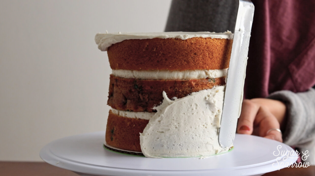 tips for the perfect semi naked cake