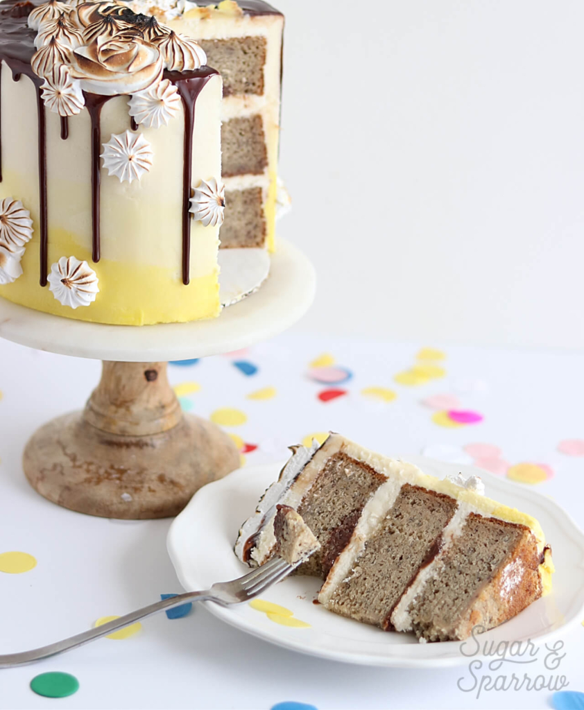 banana layer cake recipe