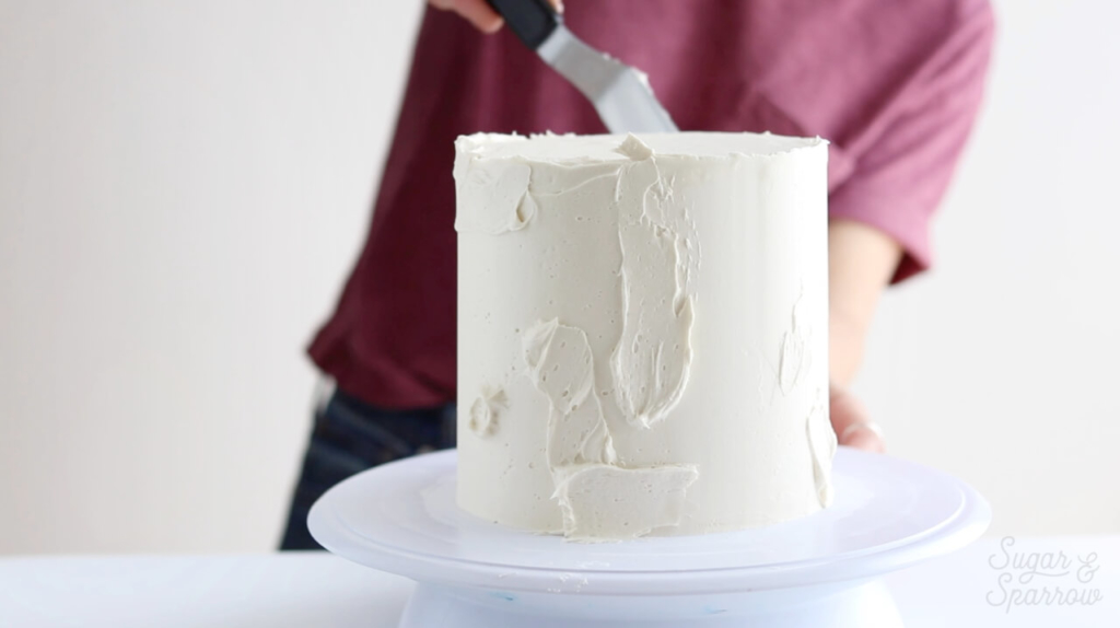 cake decorating tips for frosting a cake