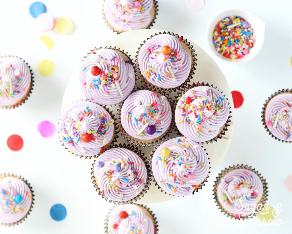 cupcakes by sugar and sparrow