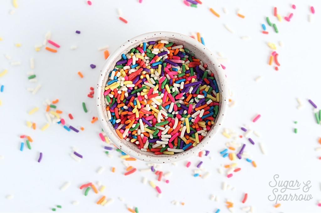 best sprinkles for homemade funfetti cake