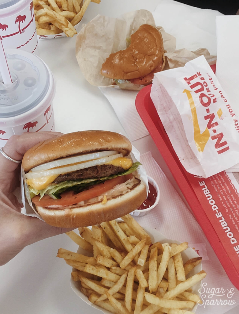 In N Out Burger Grants Pass Oregon