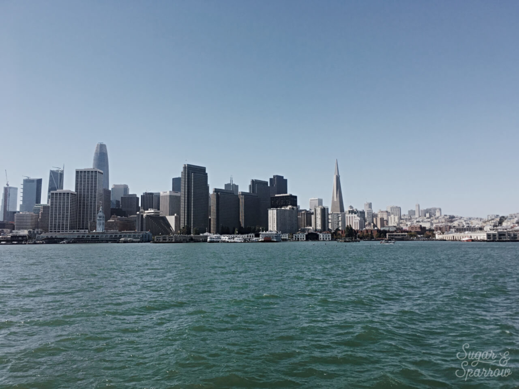ferry from sausalito to san francisco