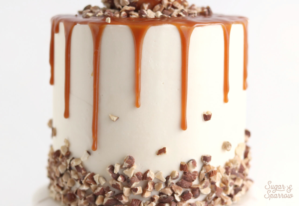 best salted caramel for dripping cakes