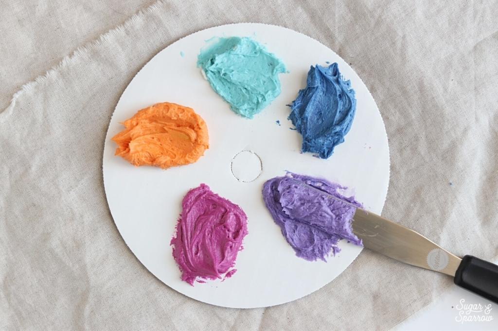 buttercream color palette americolor