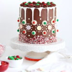 gingerbread cake recipe by sugar and sparrow