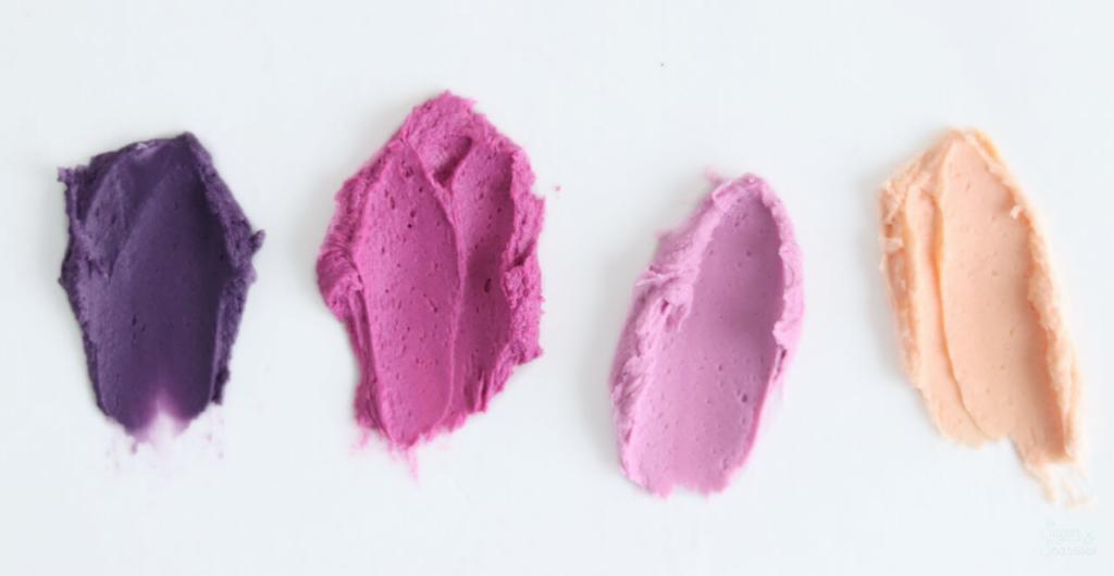 buttercream color palette