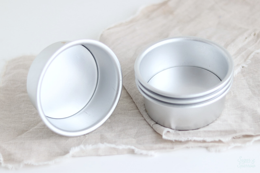 four inch cake pans for smash cake
