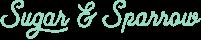 Sugar & Sparrow Script Logo