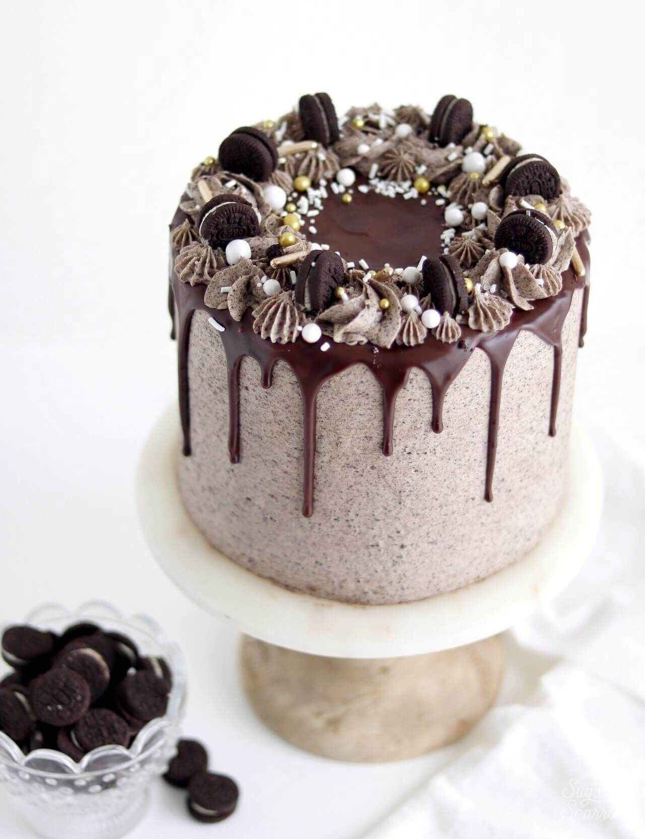 Oreo Cookies Cream Cake Recipe Sugar Sparrow