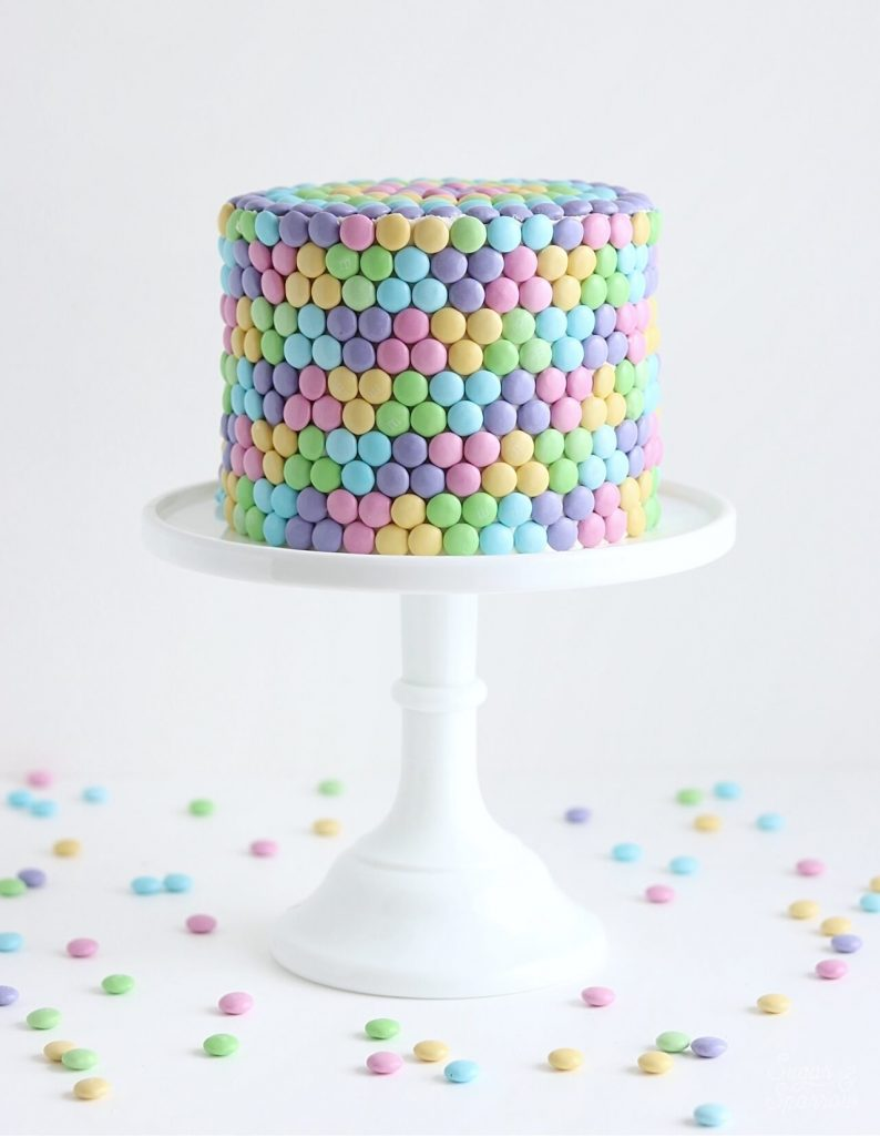 Easter candy cake by Sugar & Sparrow