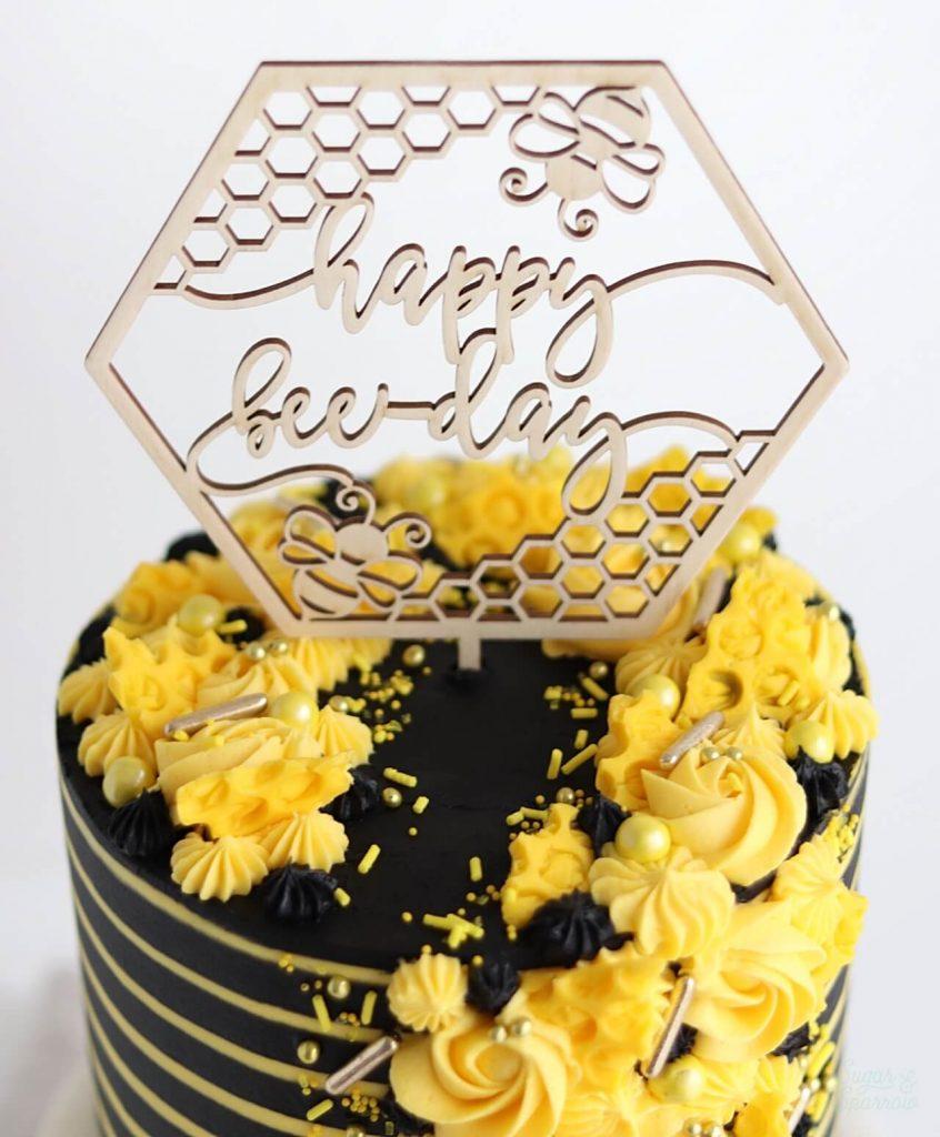 bee cake tutorial