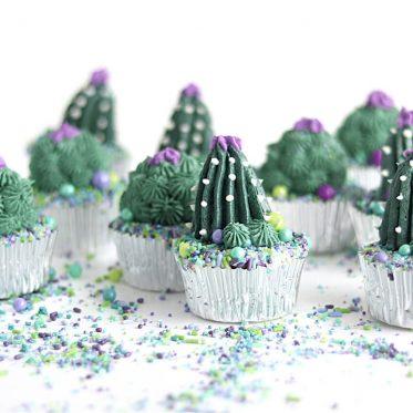 cactus cupcakes tutorial