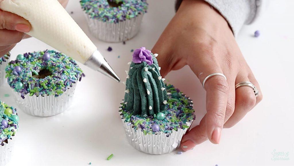 buttercream cactus tutorial