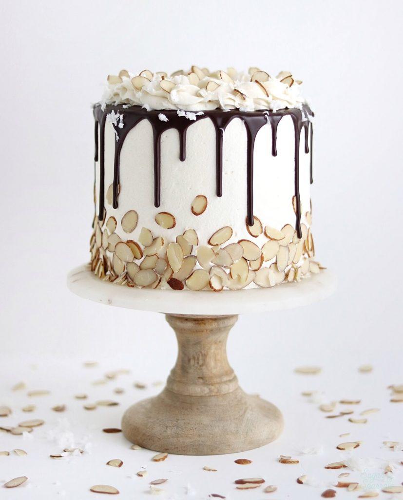 coconut cake recipe by sugar and sparrow