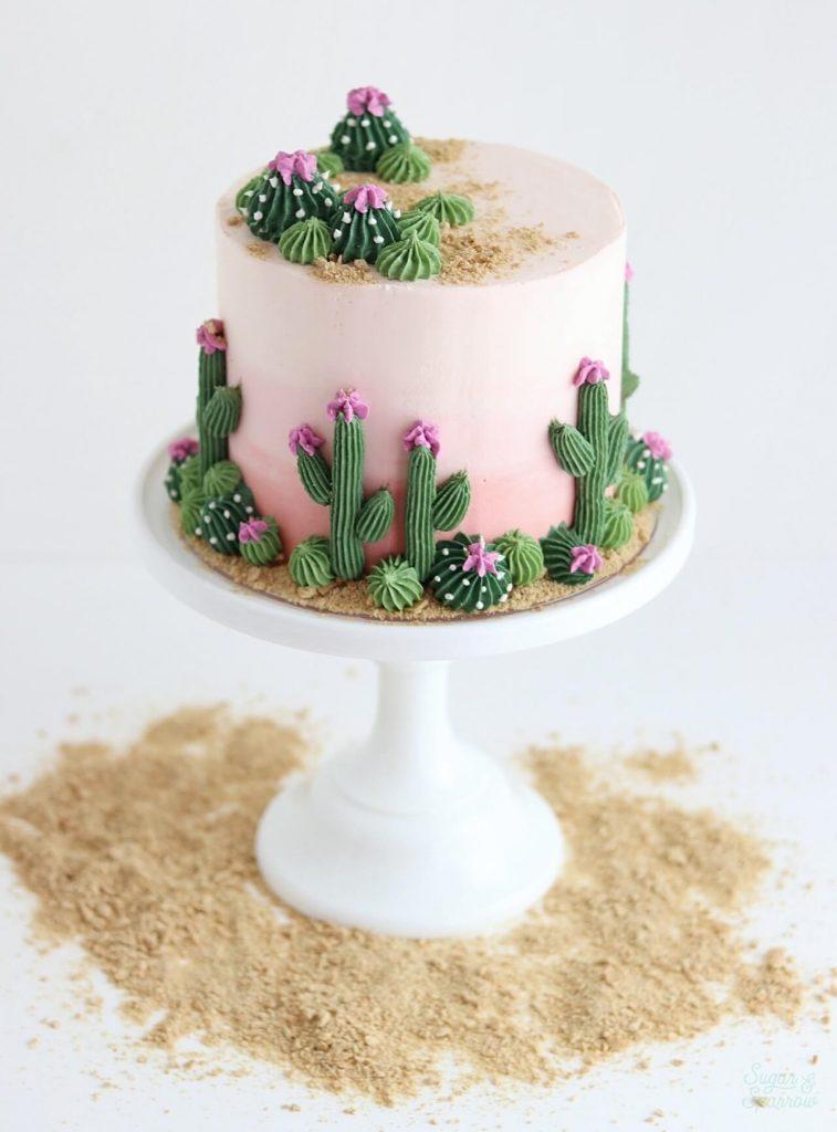 how to make cactus cake