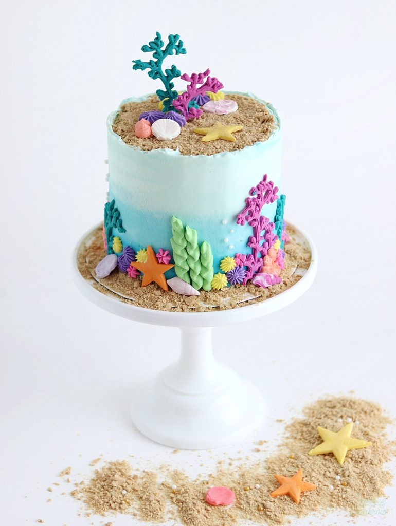ocean cake by sugar and sparrow