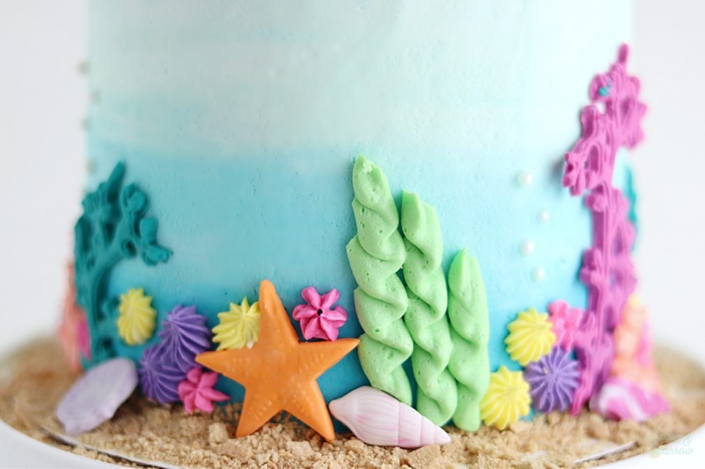 buttercream coral reef tutorial