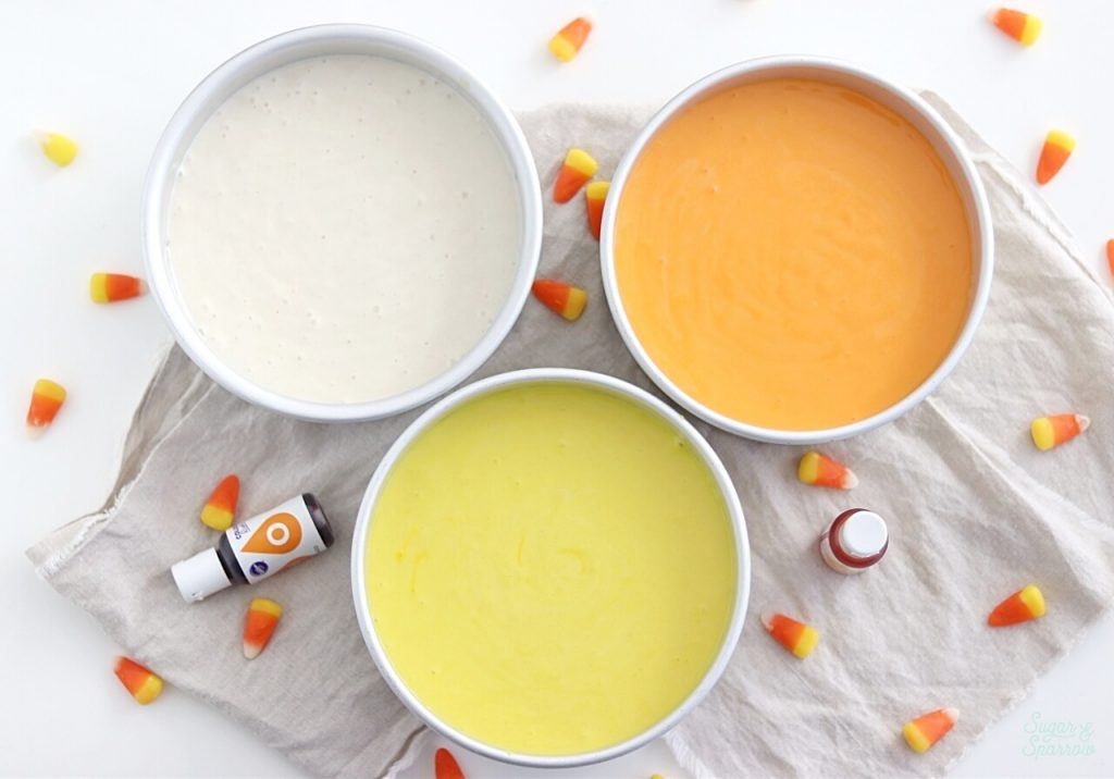 how to color cake batter