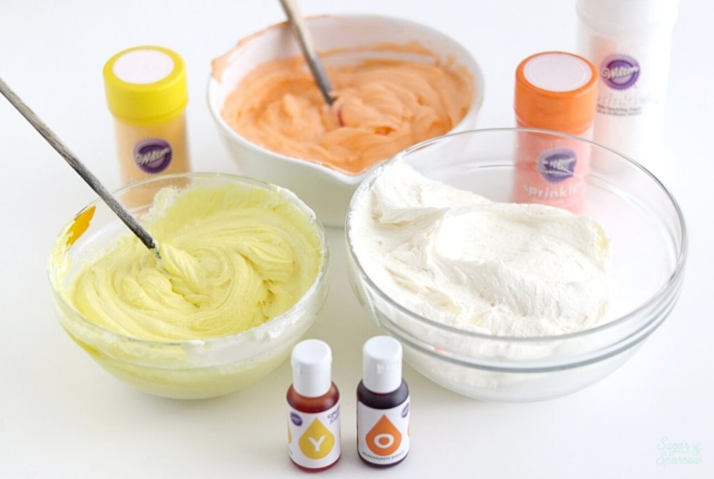 how to color buttercream with wilton color right food coloring system