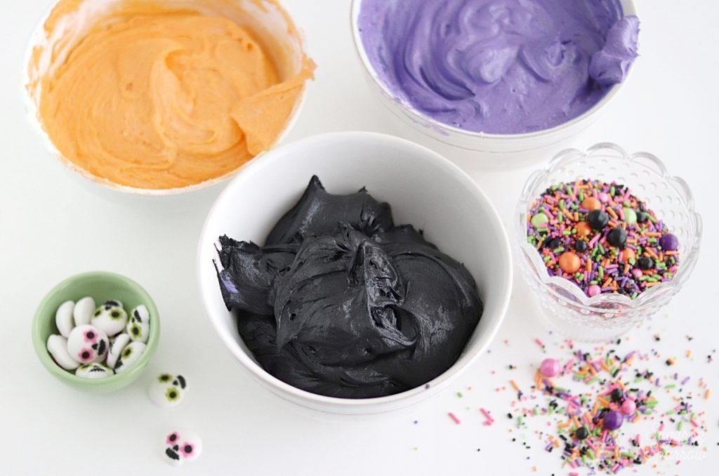Halloween cupcakes tutorial