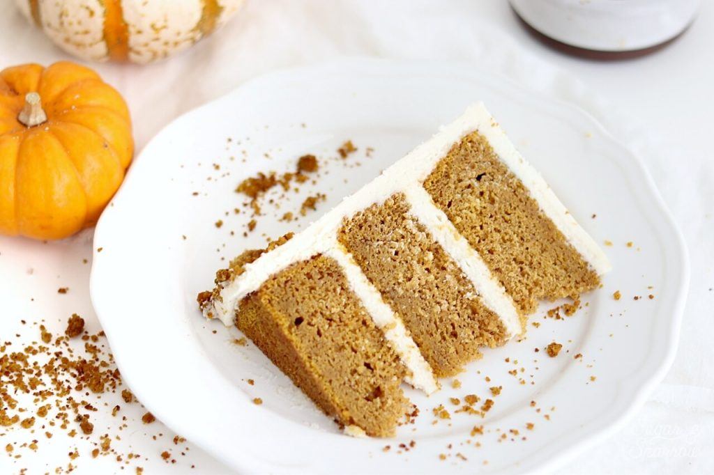 pumpkin cake recipe with cream cheese buttercream