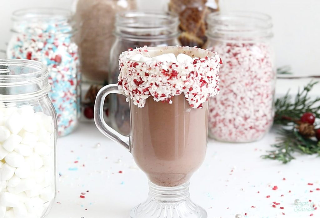 hot cocoa bar inspiration