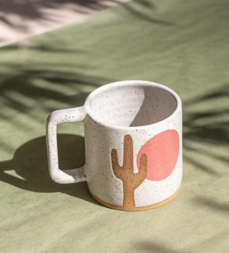 cactus mug by margaret and beau