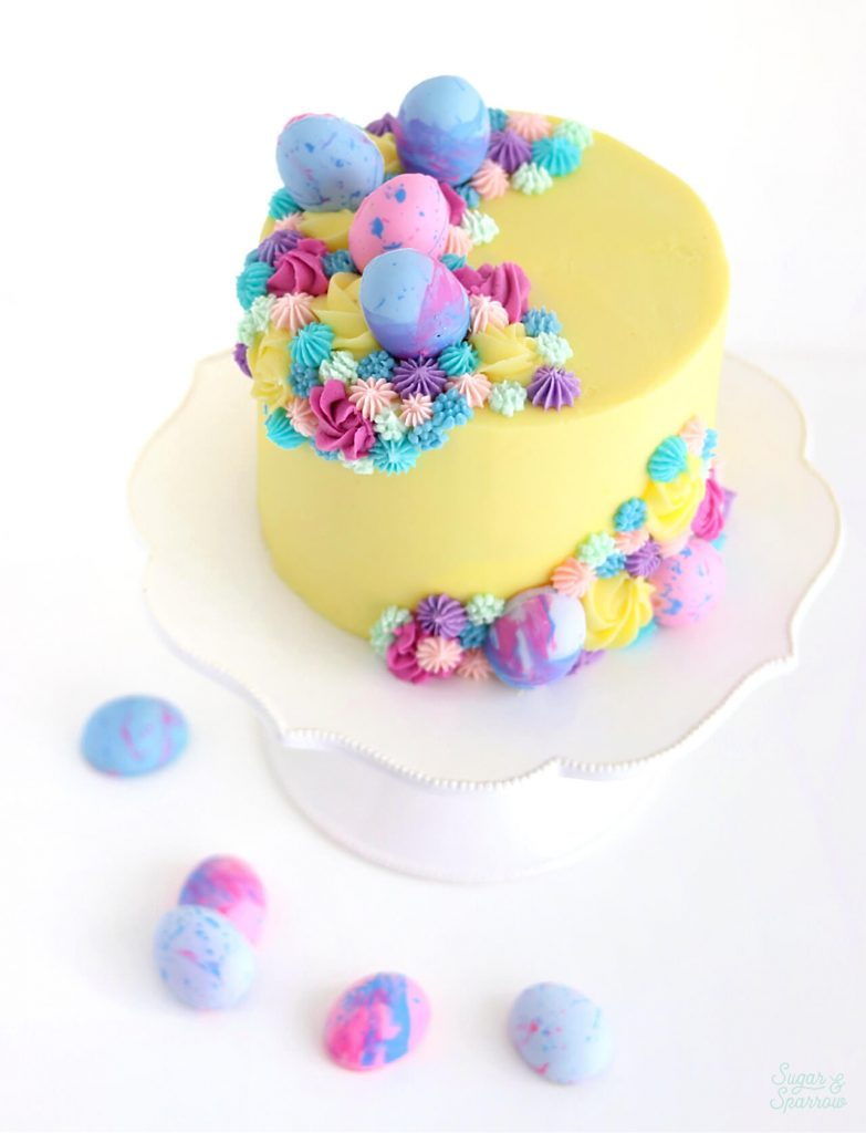 Easter Cake by Sugar and Sparrow