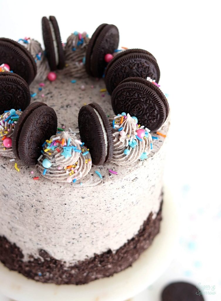 vegan oreo cookies and cream cake recipe