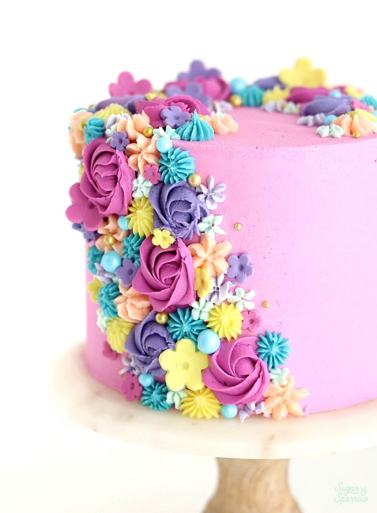 Fondant Flower Cake Cheaper Than Retail Price Buy Clothing Accessories And Lifestyle Products For Women Men