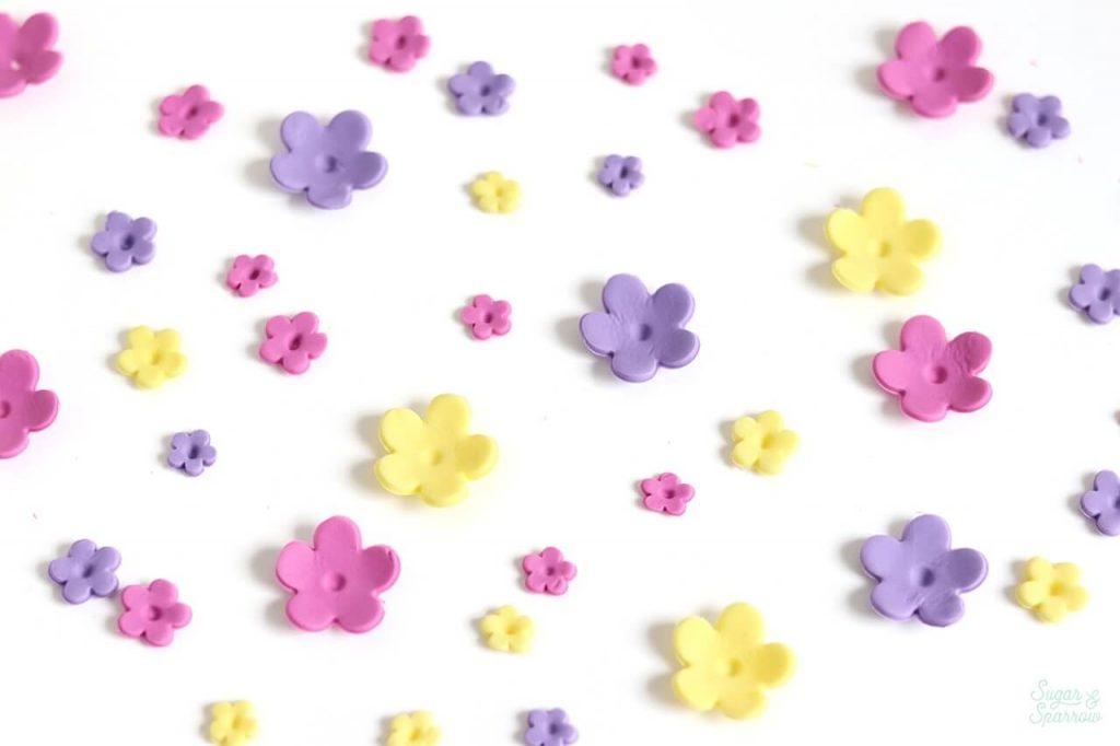 fondant flowers tutorial