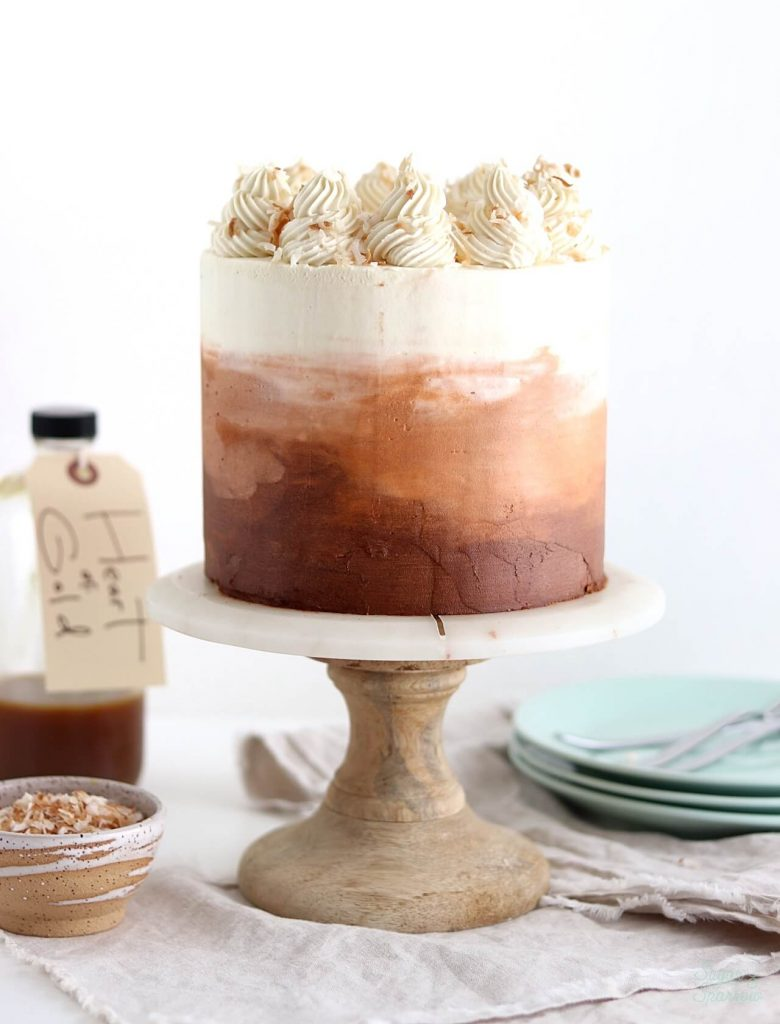 Chai layer cake with coconut buttercream recipe