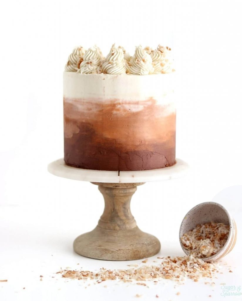 Coconut Chai Layer Cake Recipe by Sugar and Sparrow