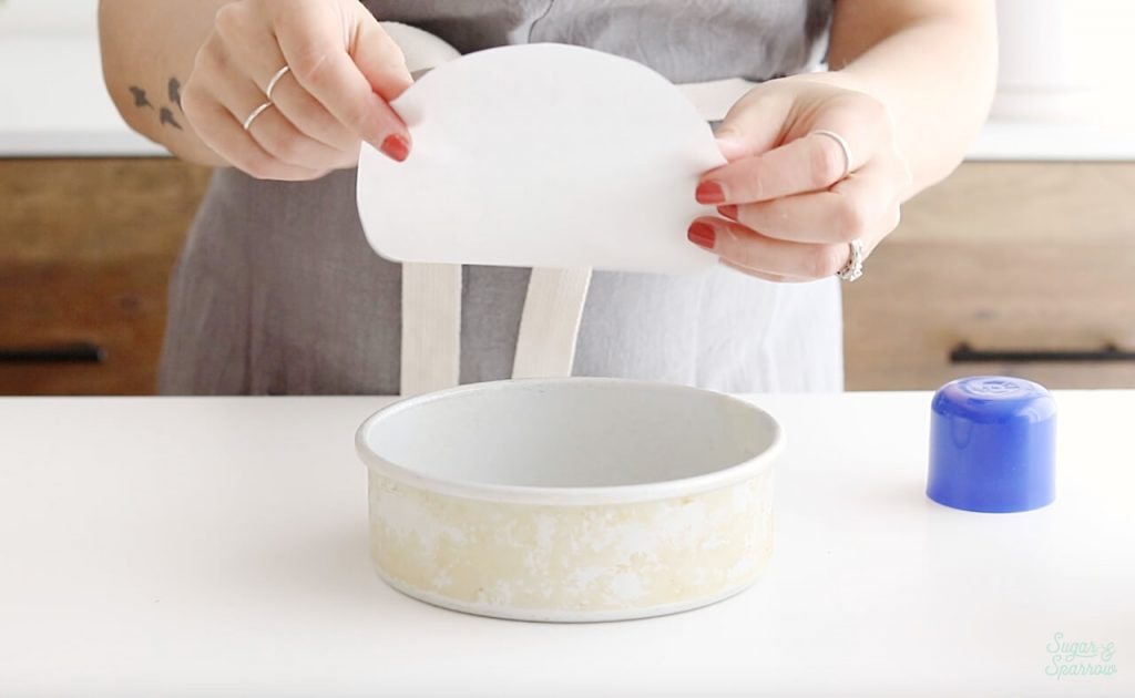parchment paper cake pan liners