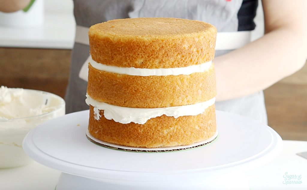when to crumb coat a cake