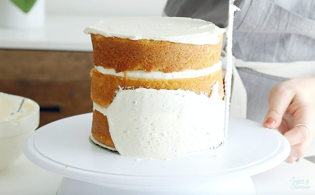 how to crumb coat cakes