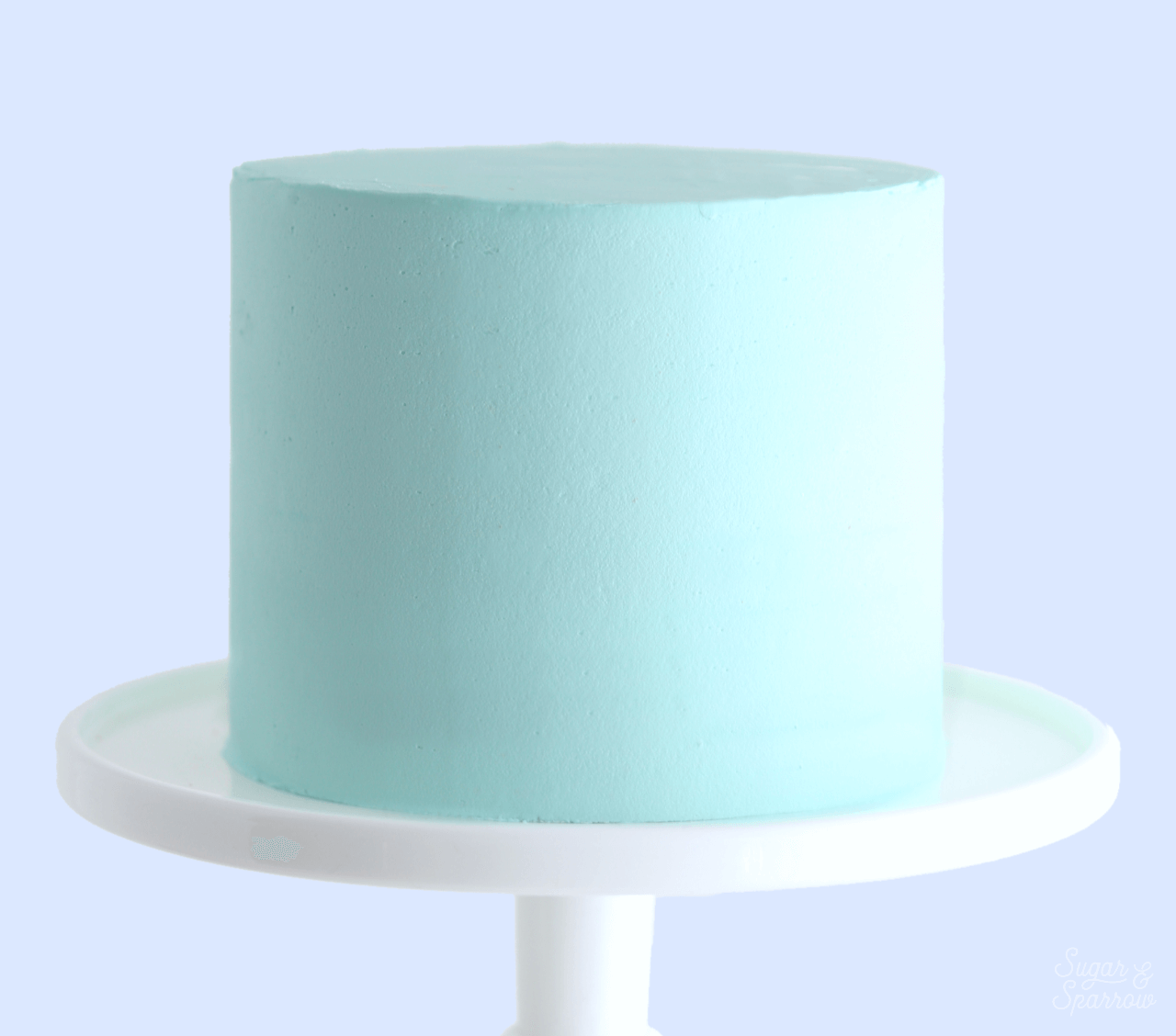 Your Guide To Frosting A Cake With Smooth Buttercream Sugar Sparrow