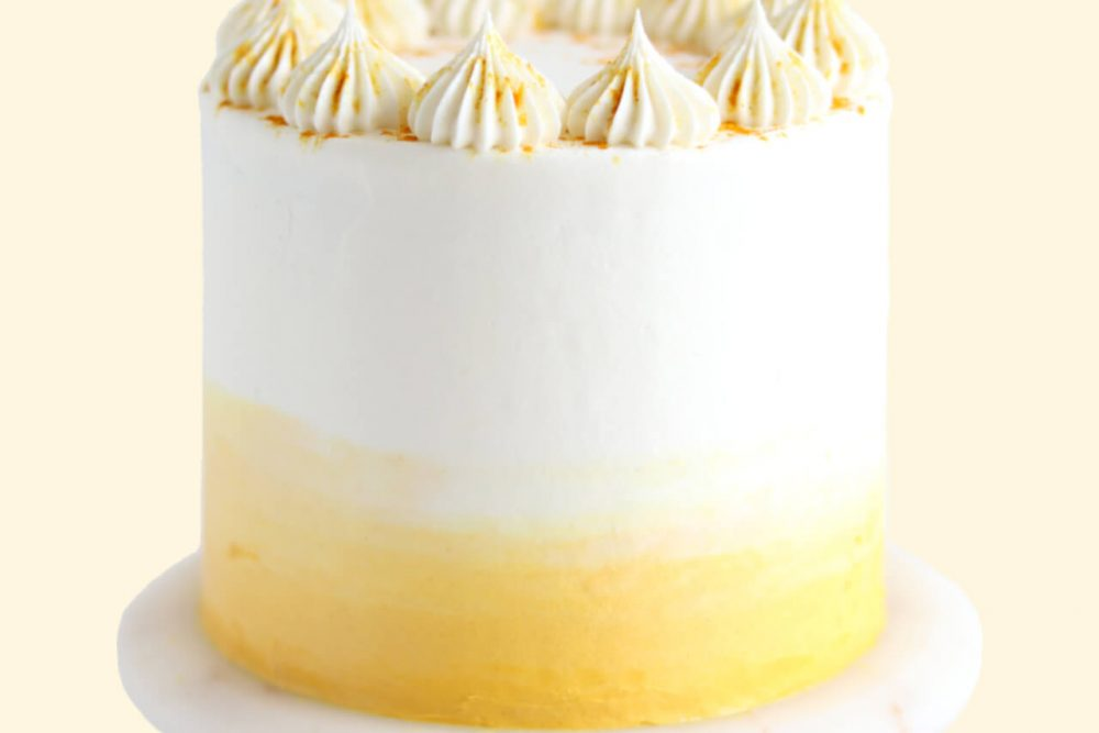 golden milk latte cake recipe by sugar and sparrow