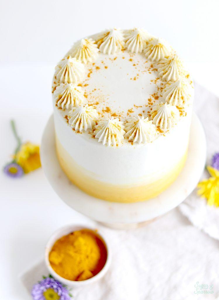 turmeric layer cake recipe