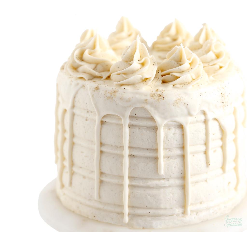 eggnog layer cake recipe