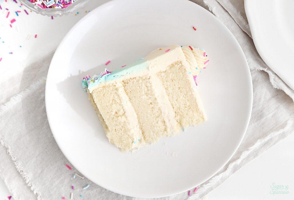 easy vegan vanilla cake recipe