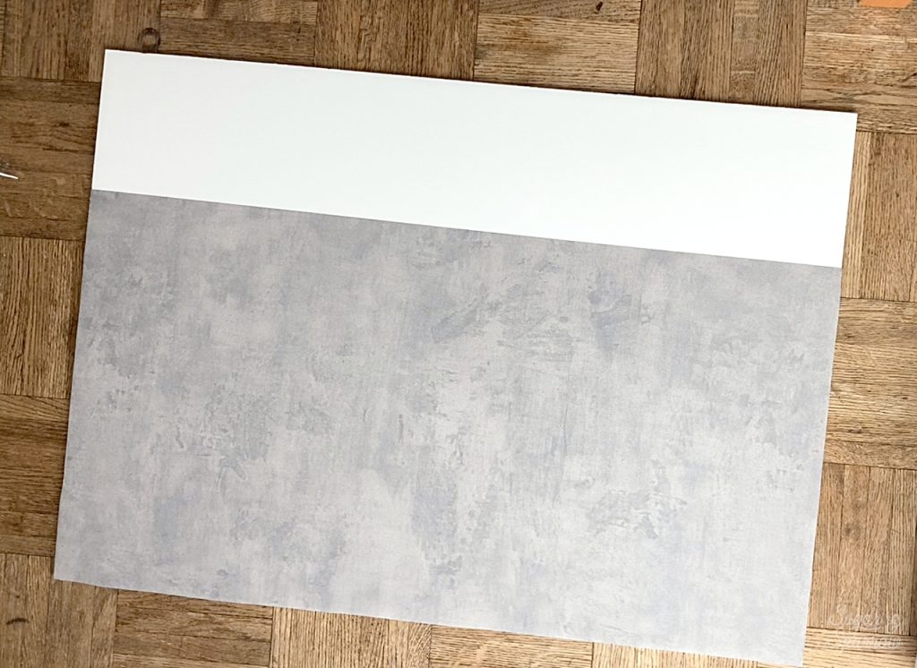 contact paper on foam core