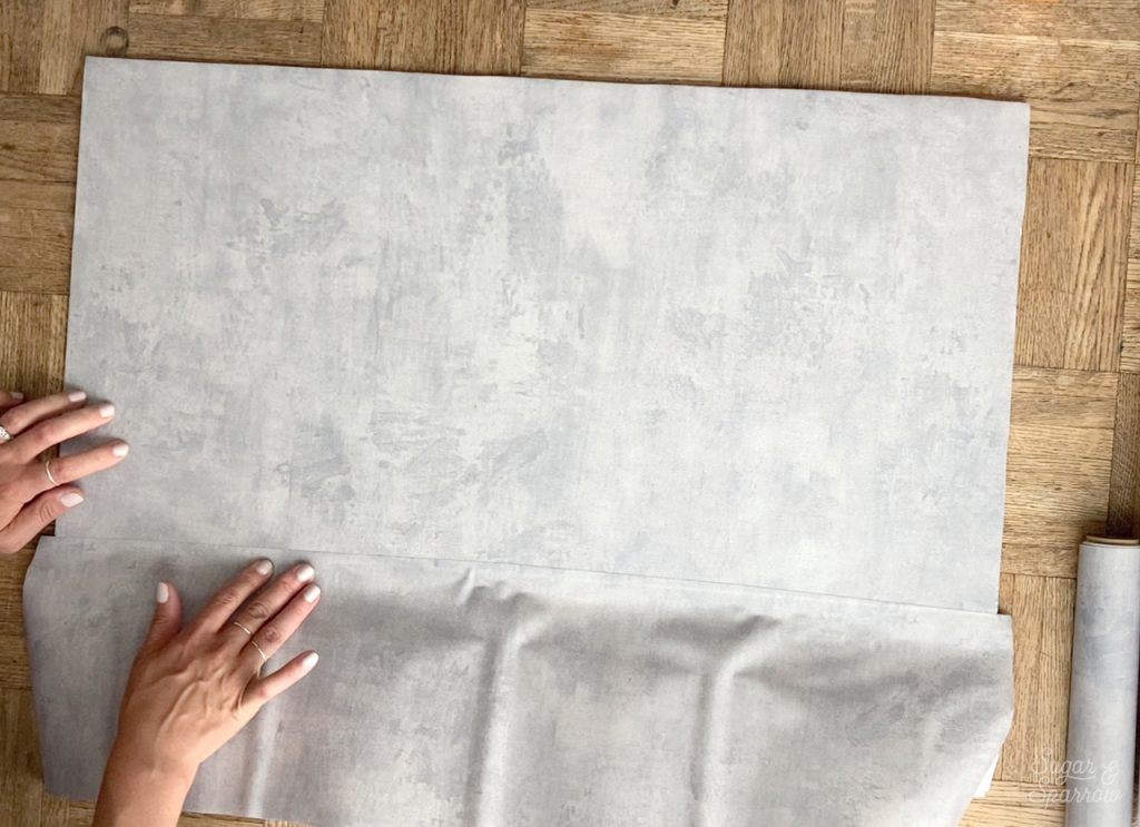 how to match up seams contact paper