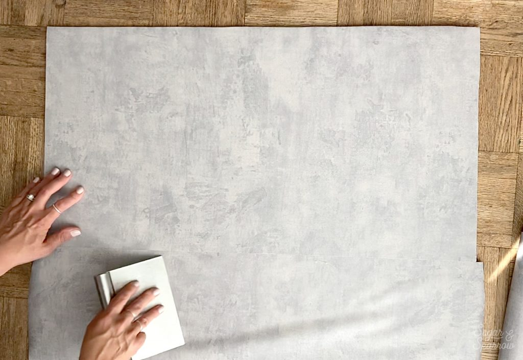 how to smooth contact paper