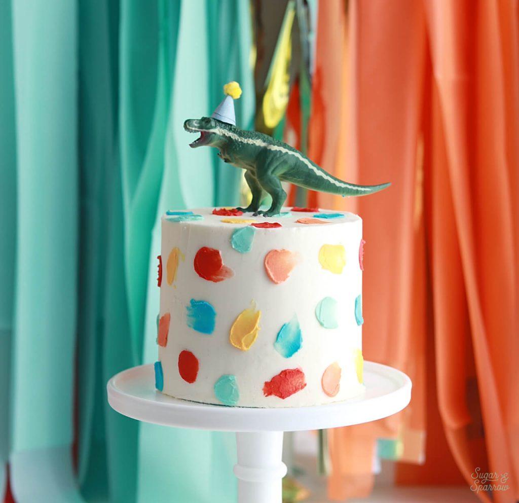 dinosaur first birthday cake ideas