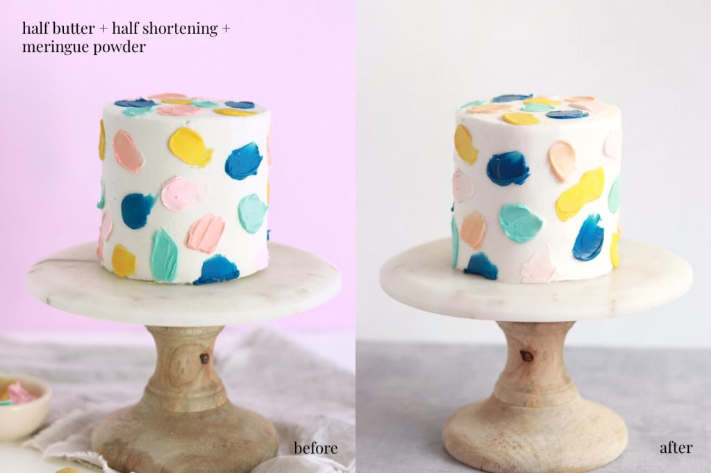 heat stable buttercream recipe by sugar and sparrow