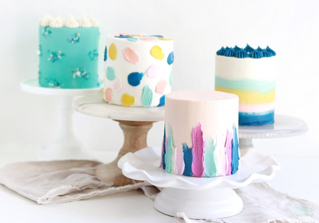 four inch cakes by sugar and sparrow