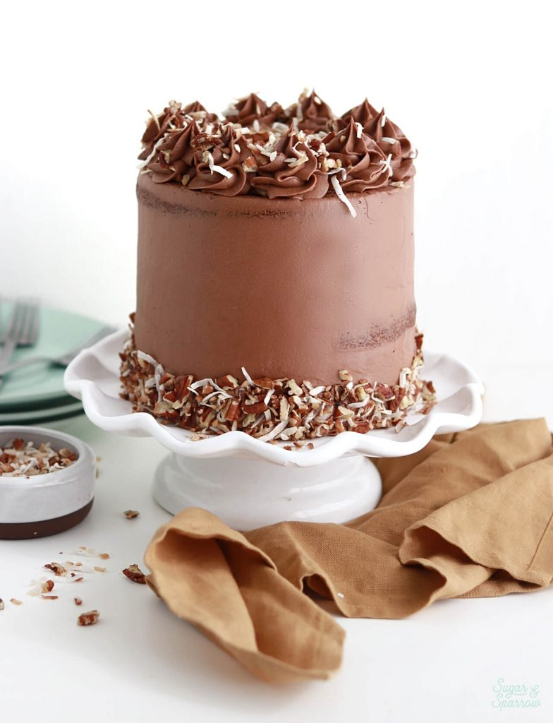 german chocolate cake and frosting recipe